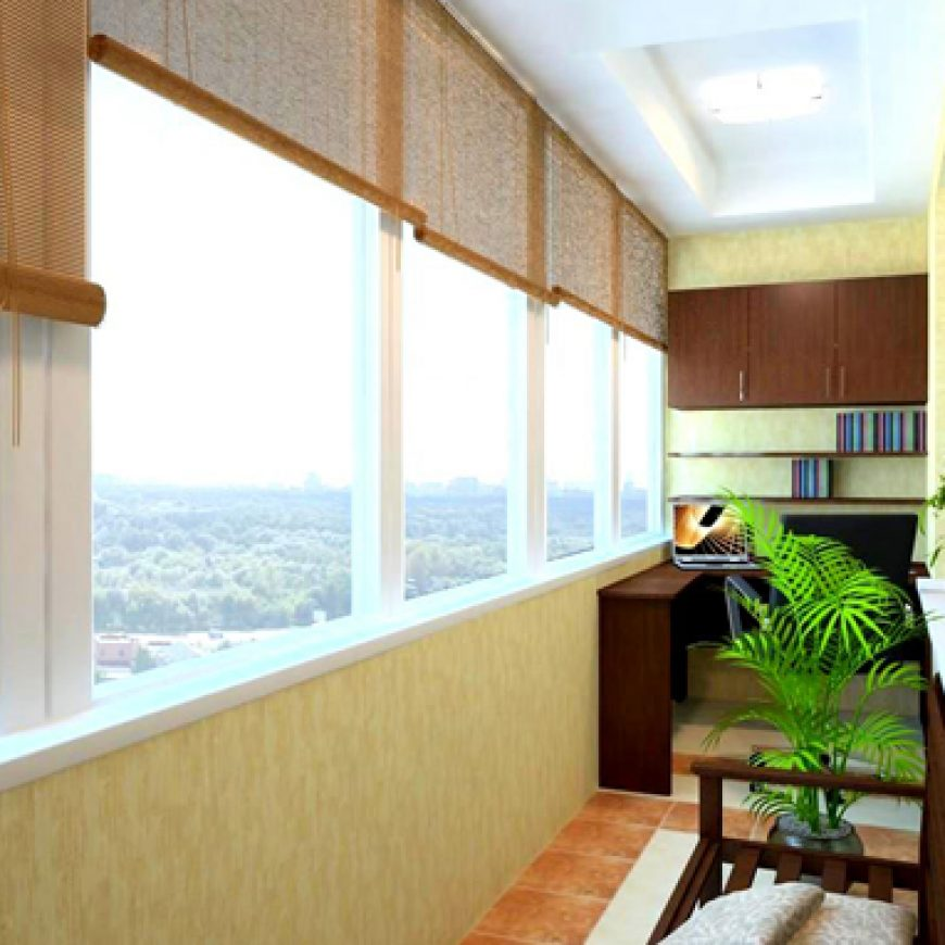 Чем отделать балкон?