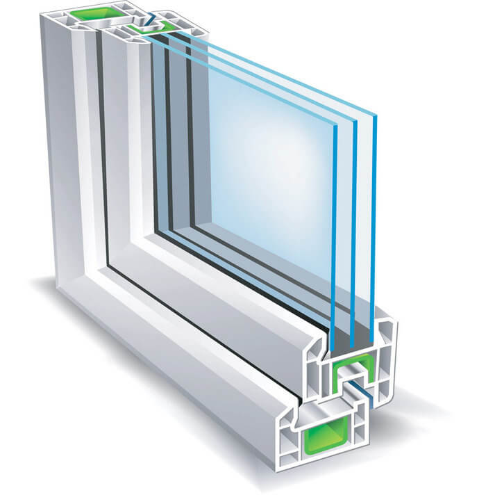Как устроен стеклопакет?