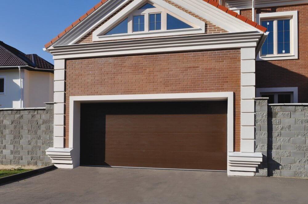 Размер проема под автоматические ворота на гараж